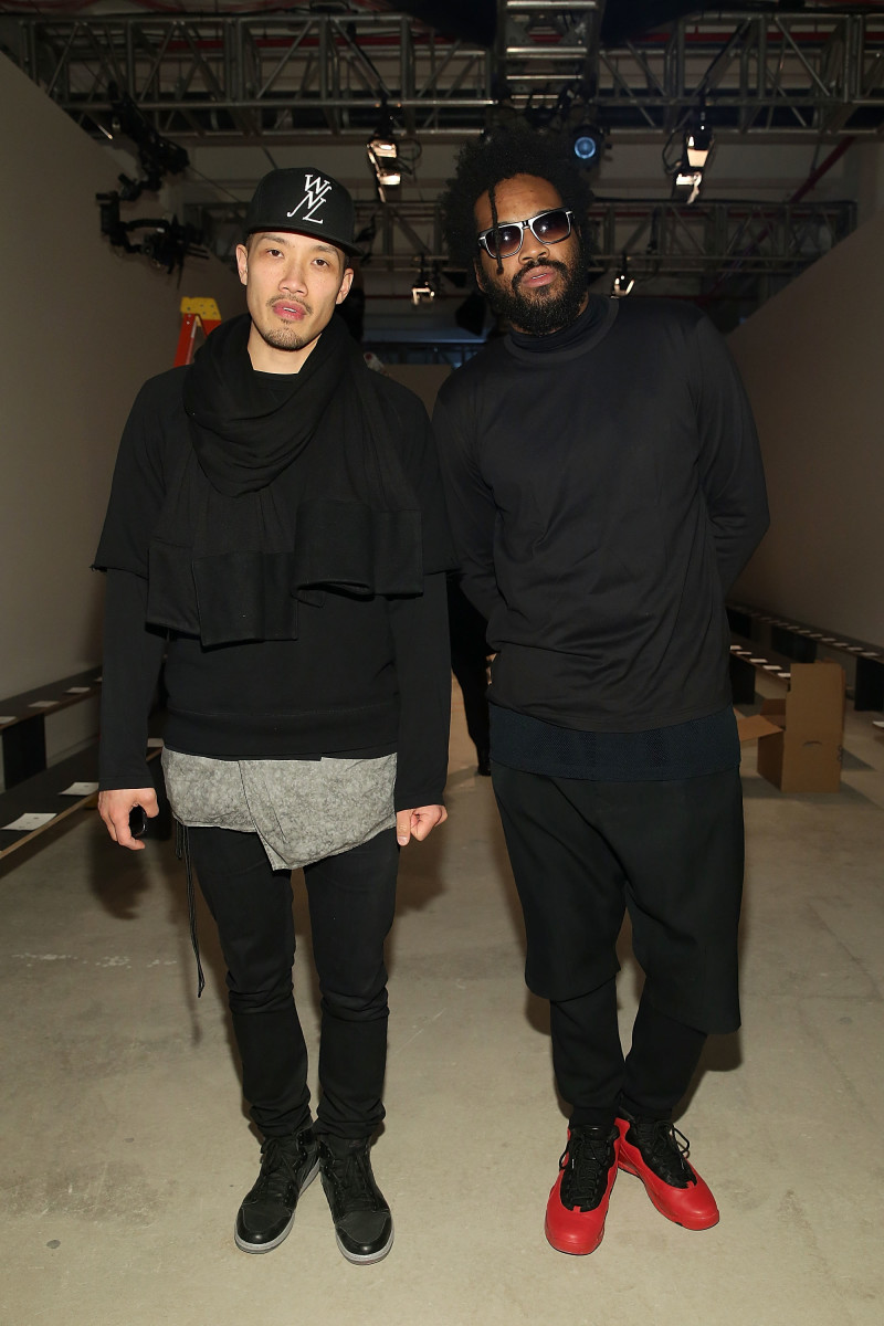 Dao-Yi Chow and Maxwell Osborne. Photo: Mireya Acierto/Getty Images