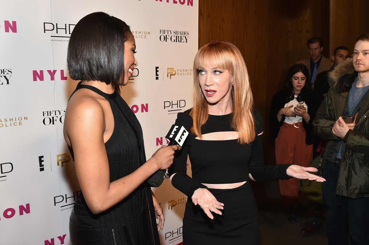 """Former """"Fashion Police"""" host Kathy Griffin. Photo: Theo Wargo/Getty Images"""
