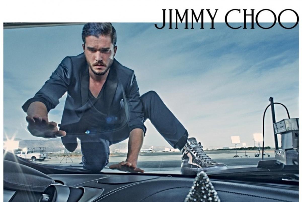 Kit Harrington for Jimmy Choo. Photo: Jimmy Choo