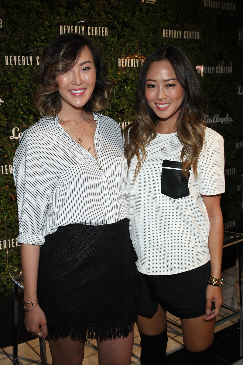 Chriselle Lim and Aimee Song, two Korean-American bloggers with massive followings in their communities. Photo: Jonathan Leibson/Getty Images