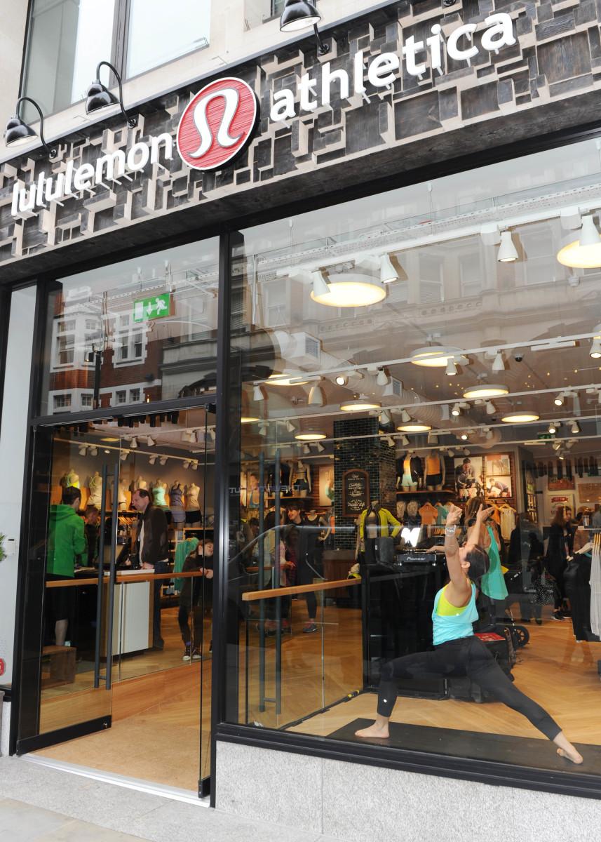 Lululemon's first European store in London. Photo: Stuart C. Wilson/Getty Images for Lululemon Athletica