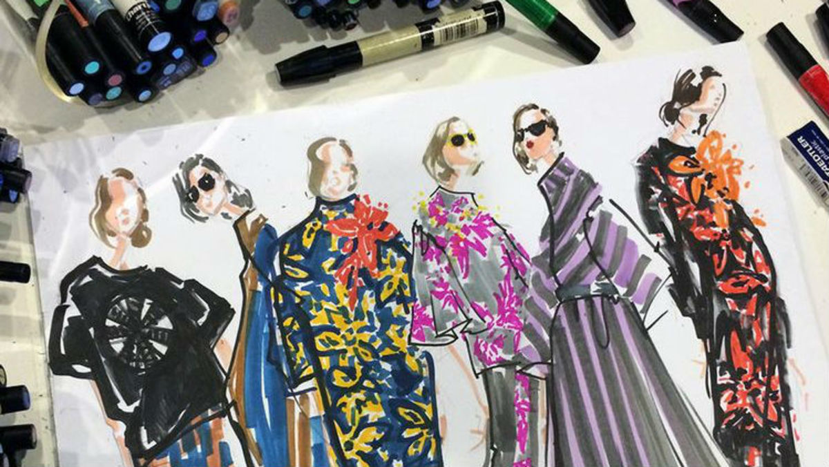 How To Make It As A Fashion Illustrator In 2015 Fashionista