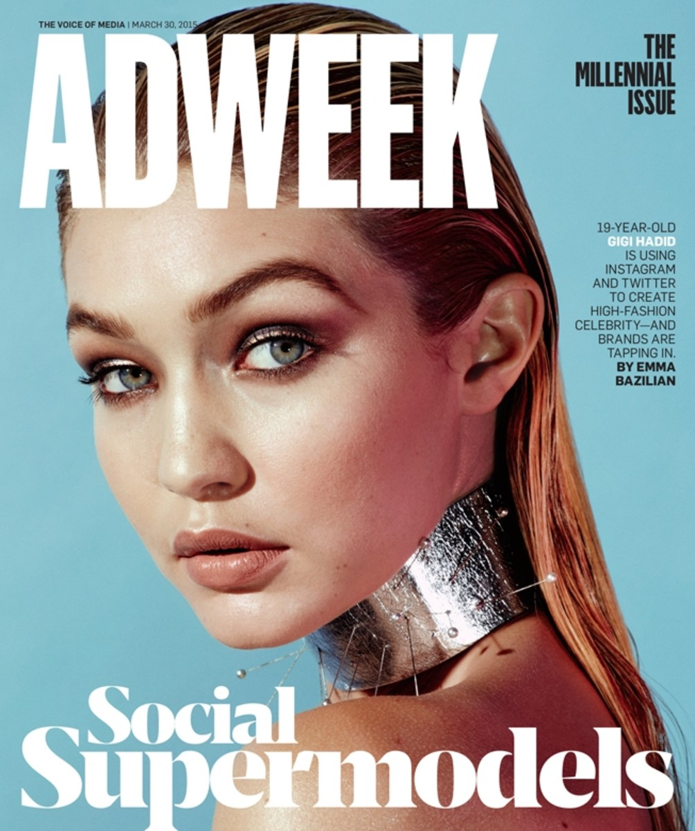Gigi Hadid. Photo: Alexei Hay/'Adweek'