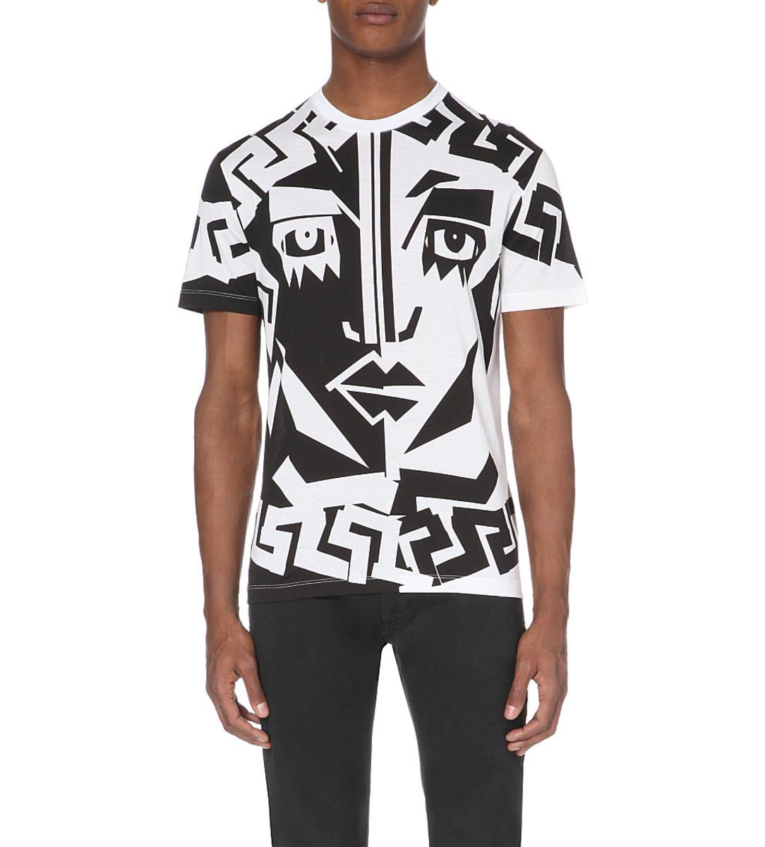 A Versace spring 2015 t-shirt. Photo: Selfridges