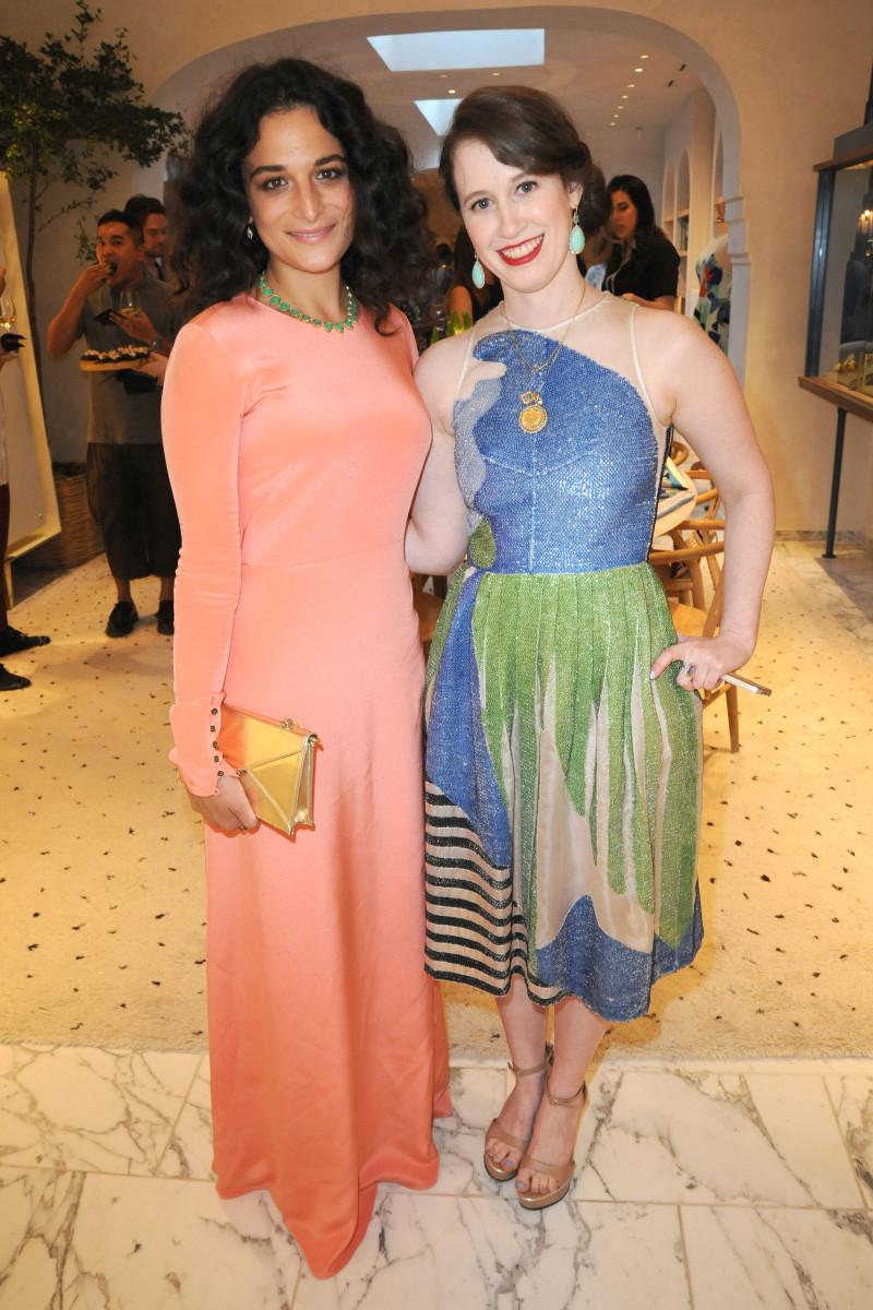 Jenny Slate and Jordana Warmflash of Novis.