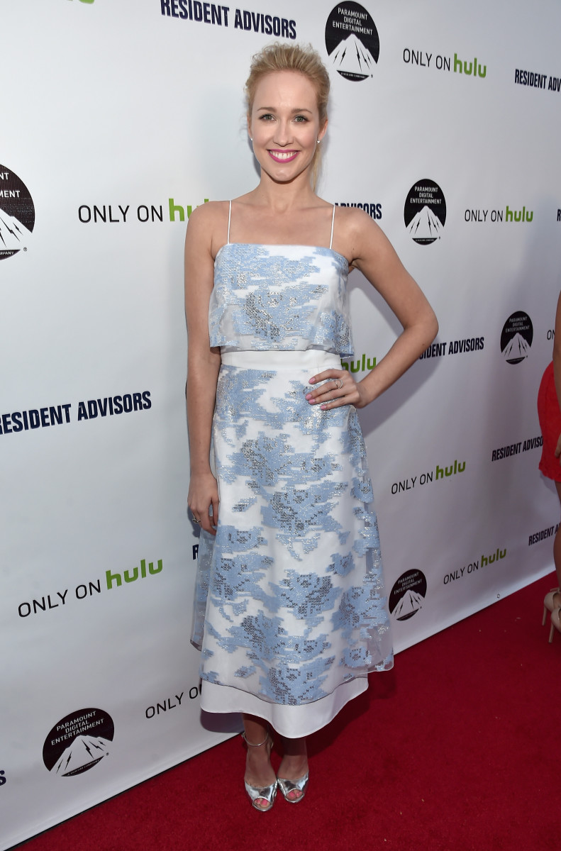 Anna Camp in Suno spring 2015. Photo: Alberto E. Rodriguez/Getty Images