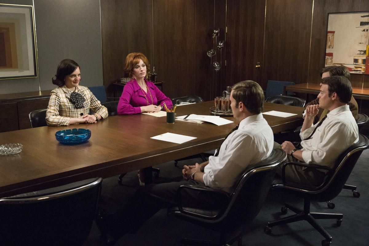 Hands on the table, boys. Photo: AMC