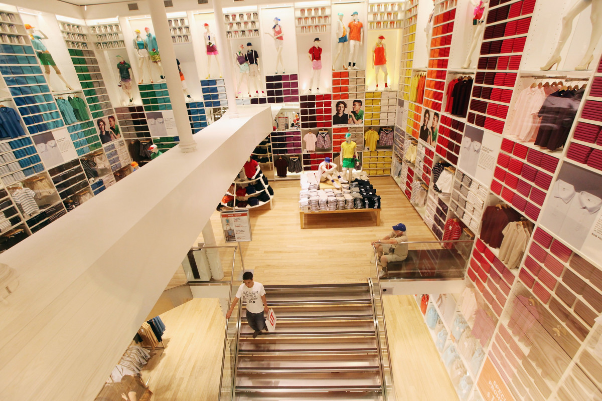 A Uniqlo store. Photo: Mario Tama/Getty Images