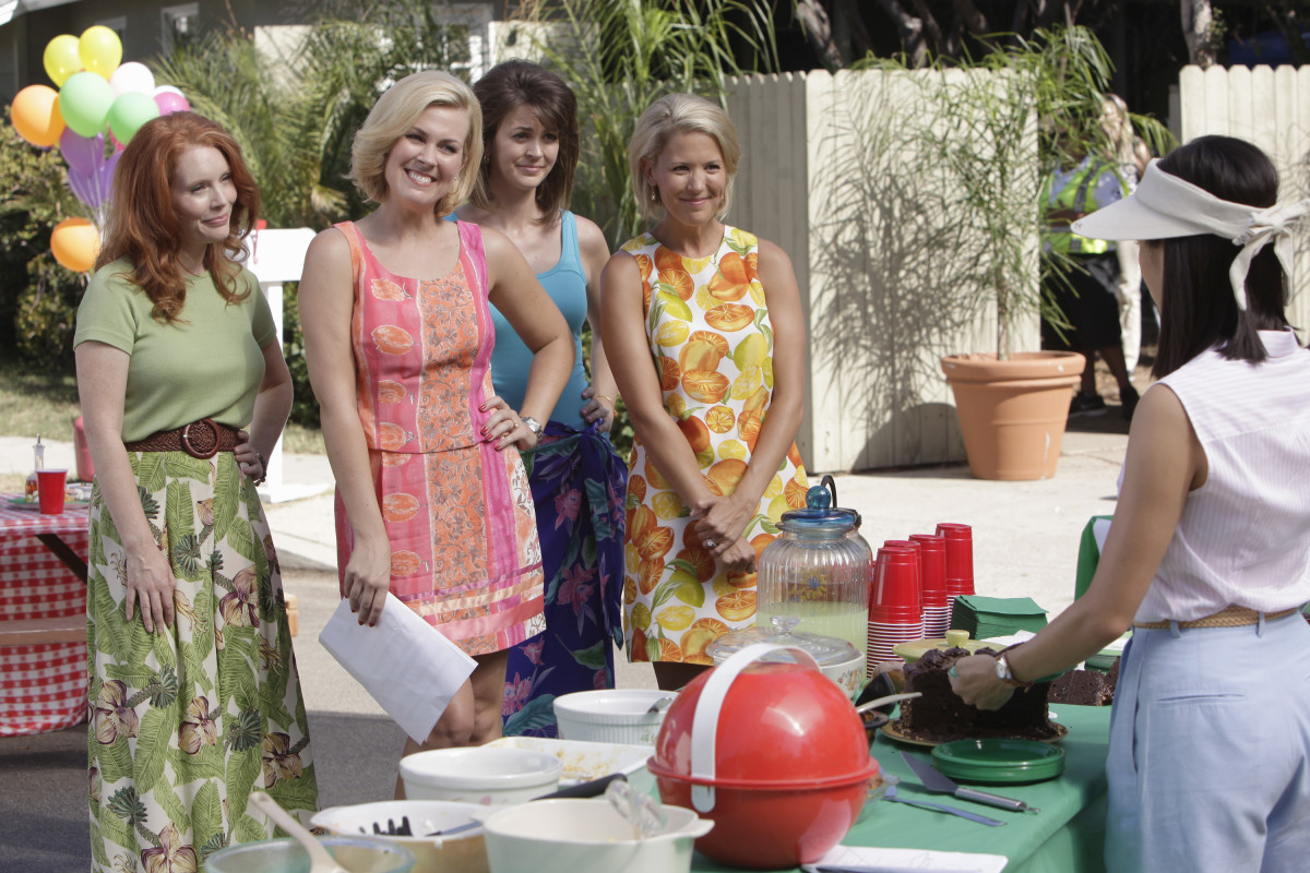 The neighborhood Stepford crew. Photo: ABC/Nicole Wilder