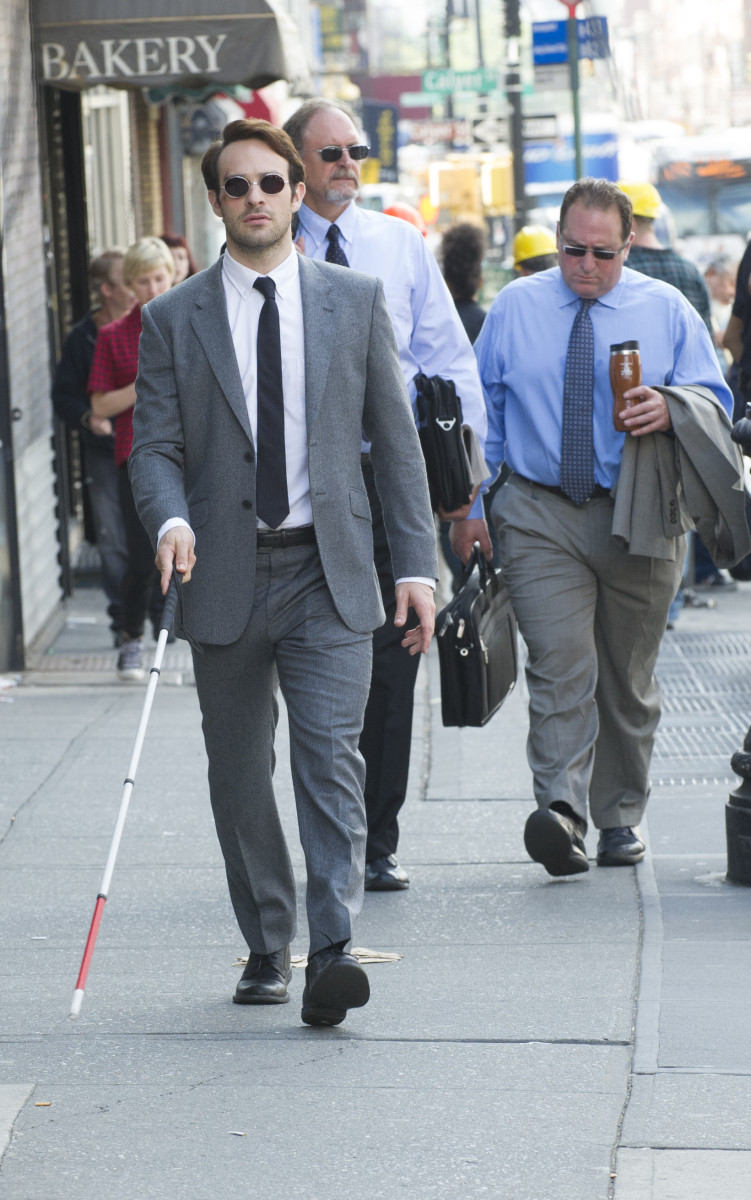 Charlie Cox as Matt Murdock doing his day job. Photo: Barry Wetcher/Netflix, Inc.