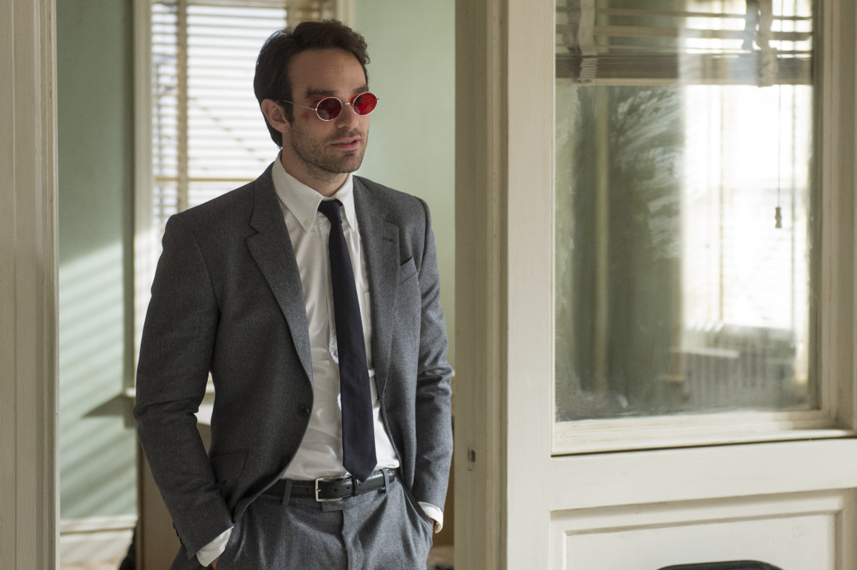 Nice suit. Charlie Cox as Matt Murdock in 'Marvel's Daredevil.' Photo: Barry Wetcher/Netflix, Inc.