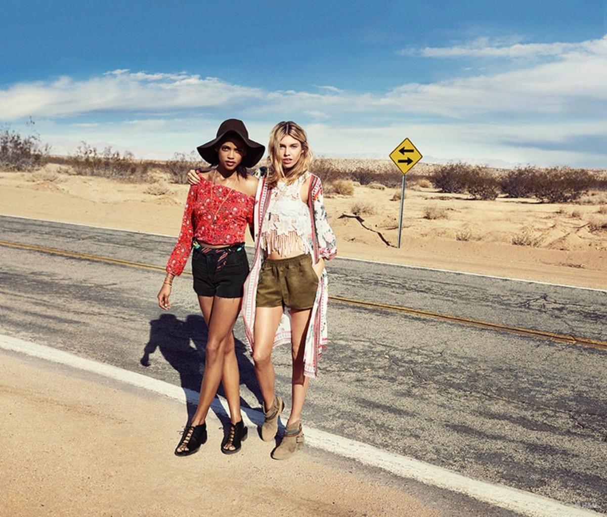 H&M, Coachella 2015.
