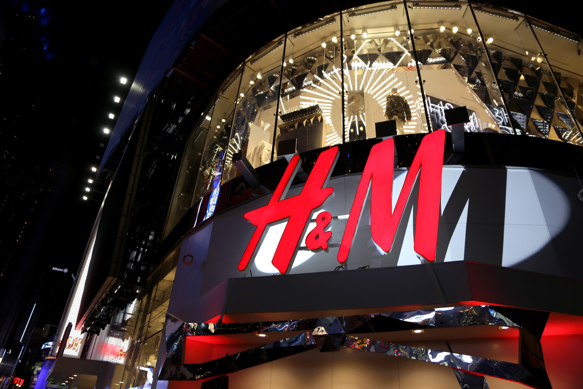 H&M Times Square. Photo: Anna Webber/Getty Images