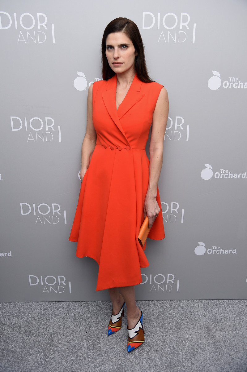 "Lake Bell at the New York premiere of ""Dior and I."" Photo: Dimitrios Kambouris/Getty Images for Dior"