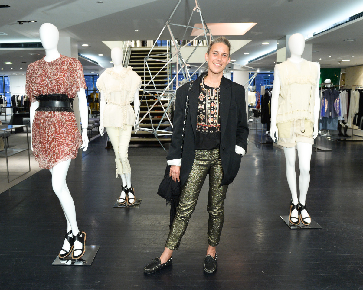 Isabel Marant. Photo: Joe Schildhorn/BFA