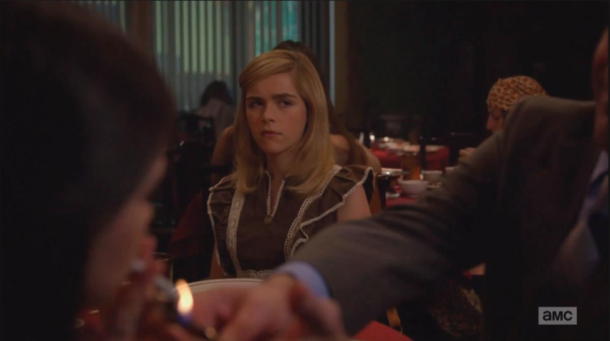 """""""Gross, gross, gross, gross."""" Screengrab: AMC"""