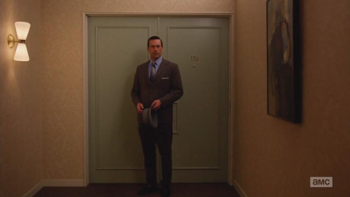 Miss you already, 17B. Screengrab: AMC