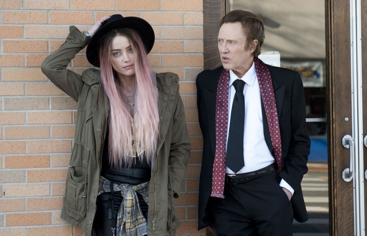 "Angsty musician Jude (Amber Heard) with her father Paul (Christopher Walken) in ""When I Live My Life Over Again."" Photo: When I Live My Life Over Again"