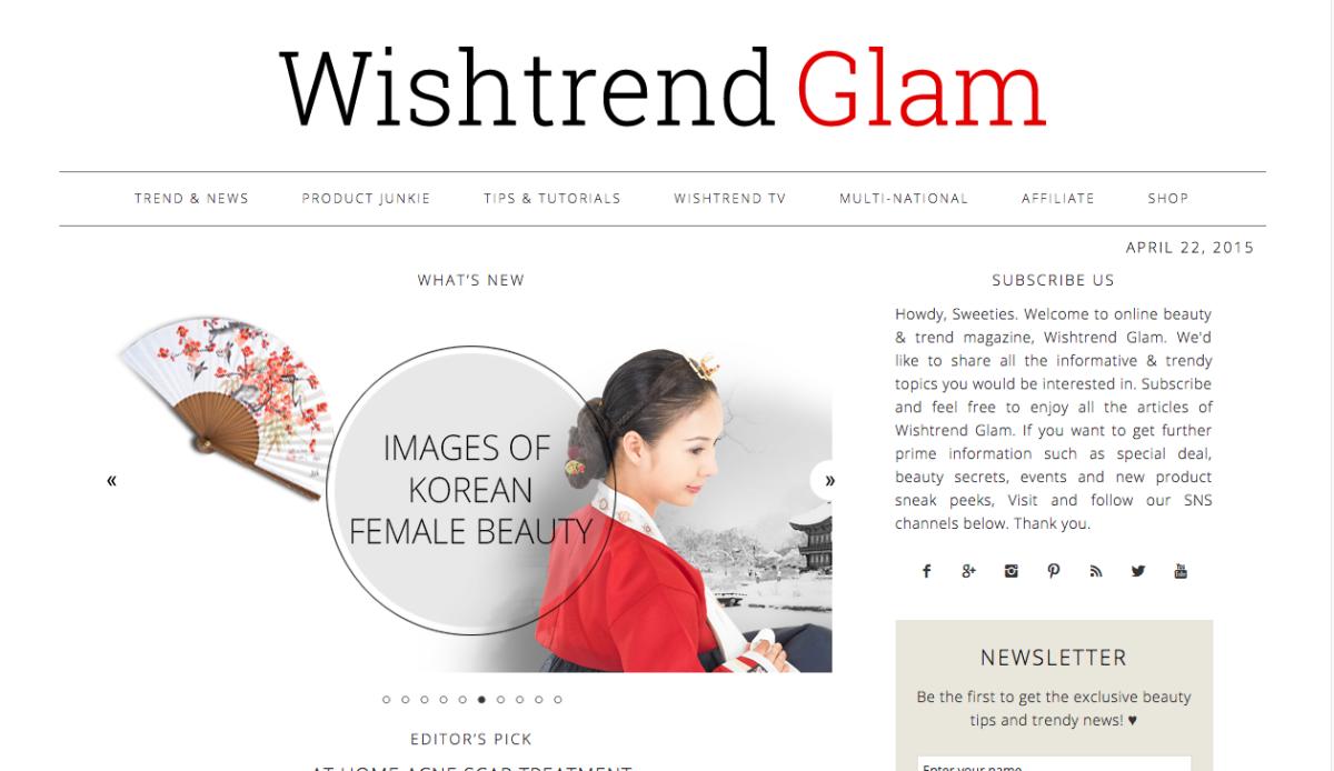 Screengrab: Wishtrend