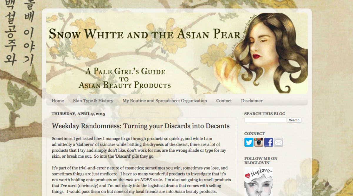 Screengrab: Snow White and the Asian Pear