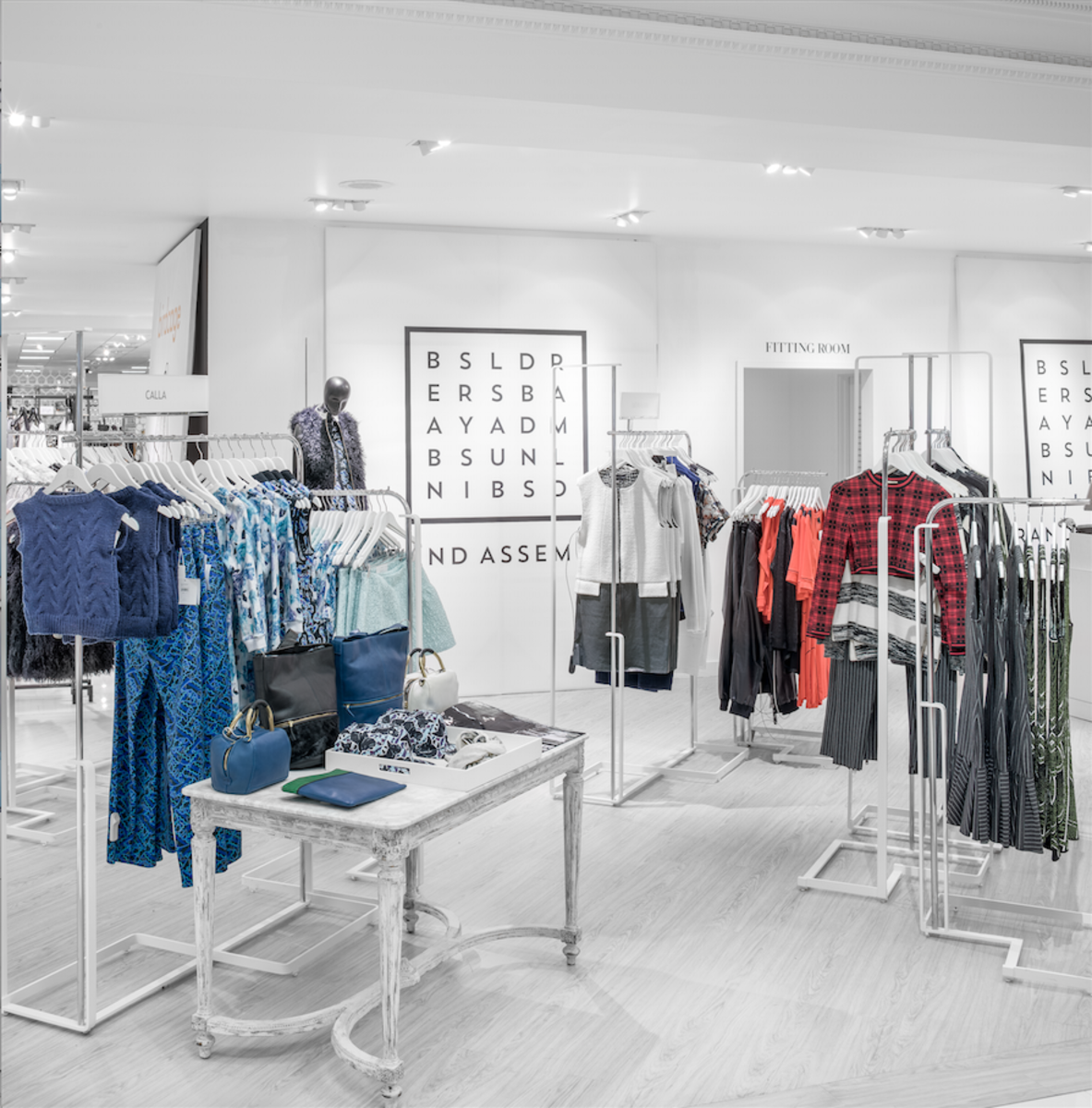 Brand Assembly's shop-in-shop at Lord & Taylor. Photo: Lord & Taylor