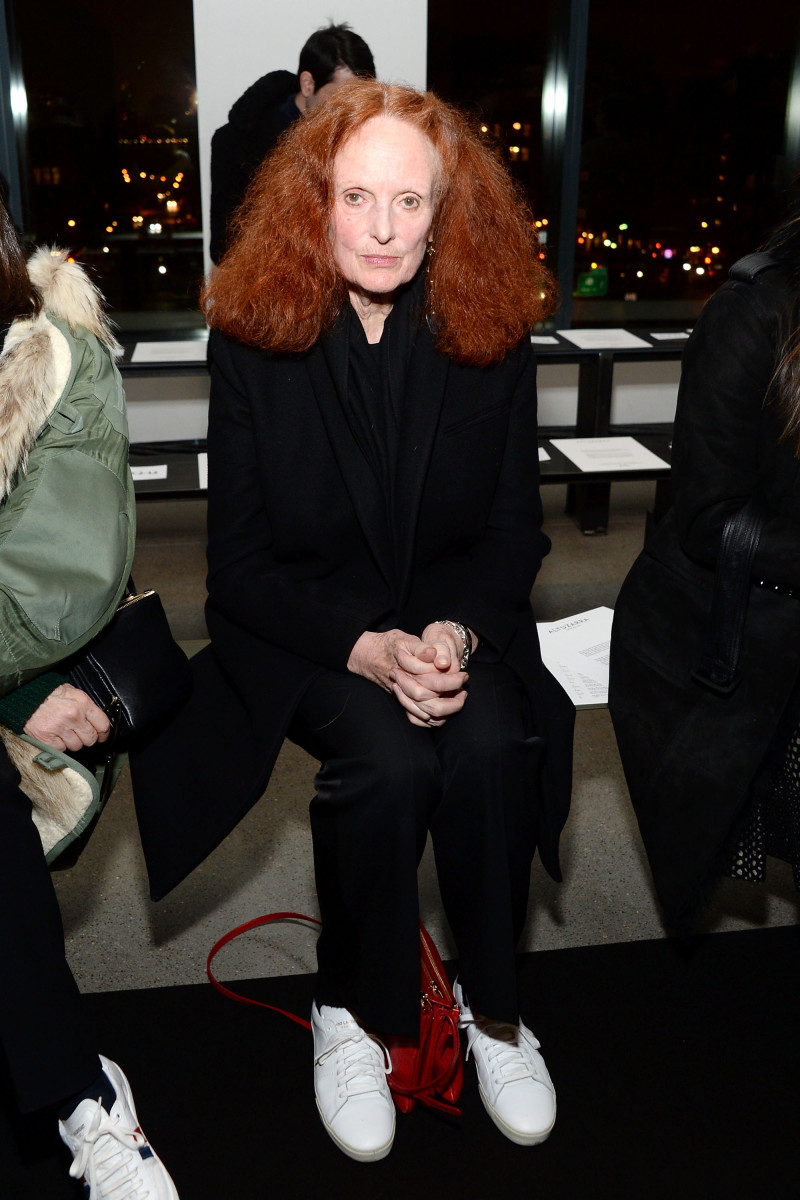 'Vogue' Creative Director Grace Coddington. Photo: Ben Gabbe/Getty Images