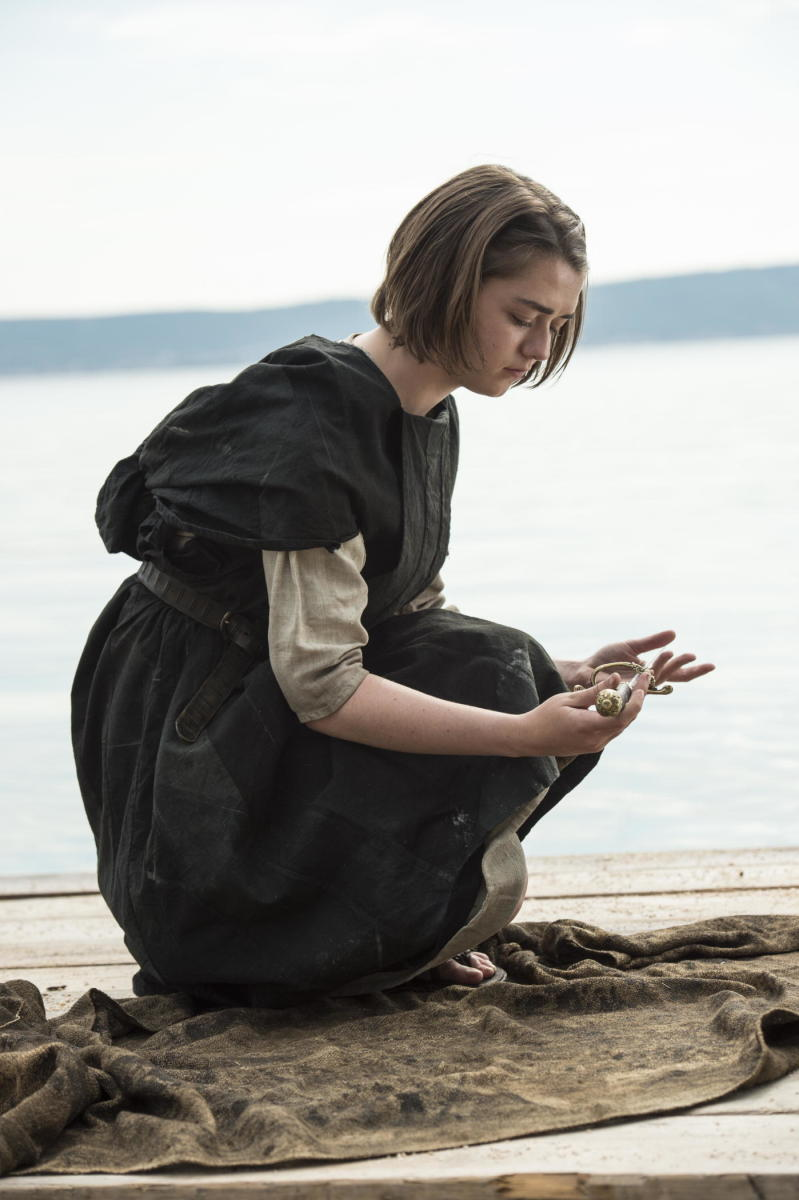 Don't give Needle away, Arya! Photo: Macall B. Polay/HBO