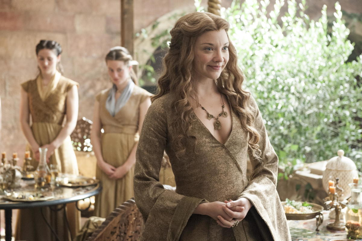 "The ""smirking whore from Highgarden."" (Cersei's words, not mine.) Photo: Helen Sloan/HBO"