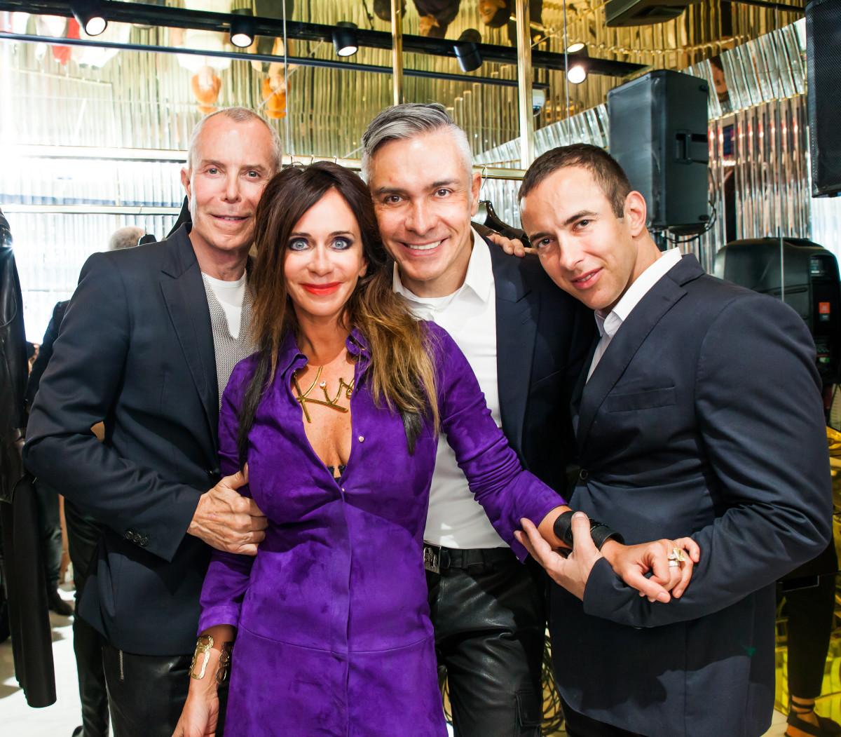 Jean-Claude Jitrois, Jodi Shelton, Gilbert Maria and Yann Patry. Photo: Jitrois