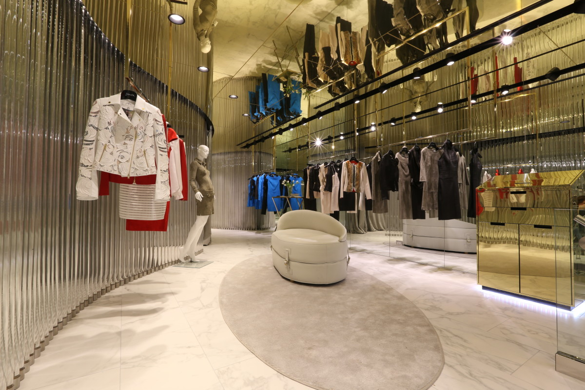 Inside the Madison Avenue store. Photo: Jitrois