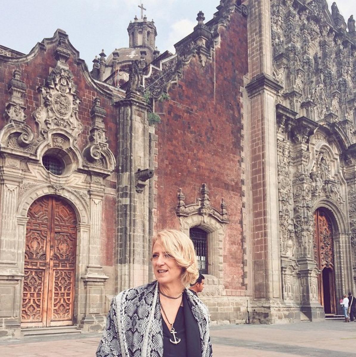 Nanette Lepore in Mexico City. Photo: Nanette Lepore