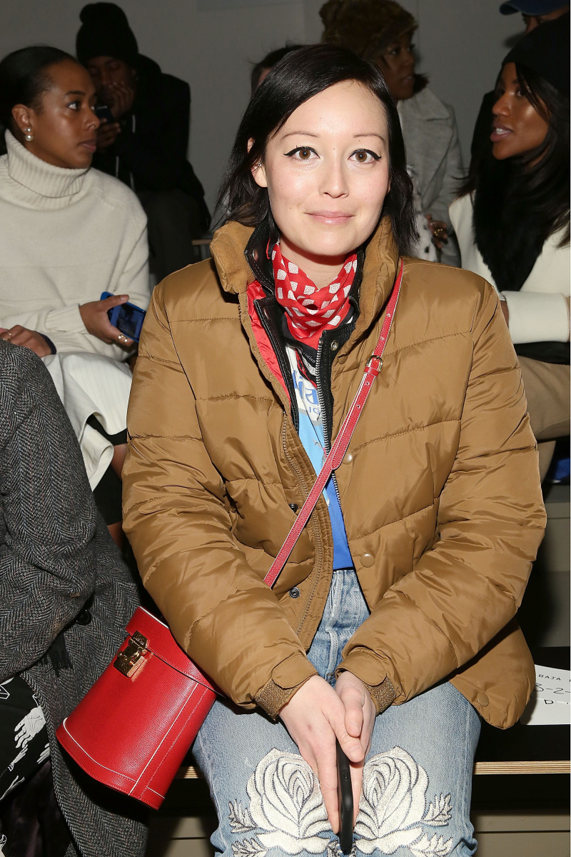 Former Style.com Fashion Market Director Rachael Wang. Photo: Mireya Acierto/Stringer/Getty Images