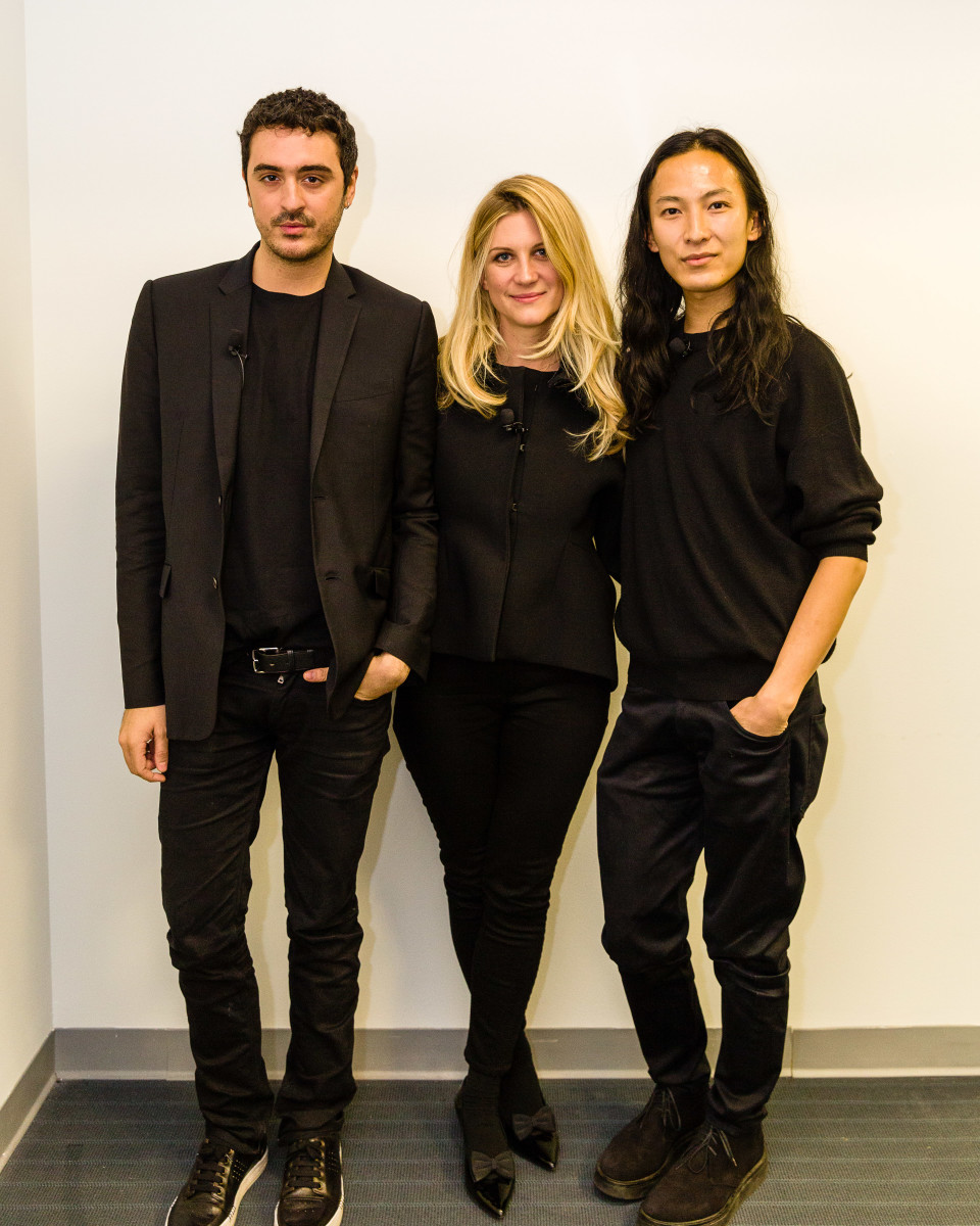 Ryan Korban, Kristina O'Neill and Alexander Wang. Photo: KregHolt.com/WSJ