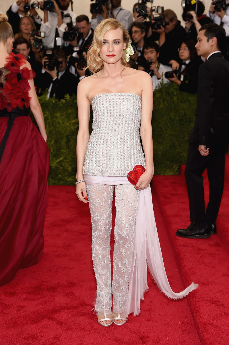 Diane Kruger in Chanel. Photo: Dimitrios Kambouris/Getty Images