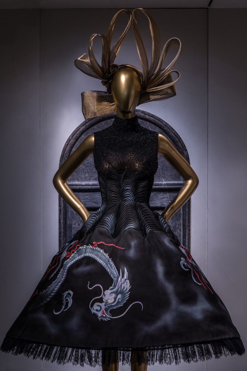 A Givenchy dress on display. Photo: Metropolitan Museum of Art