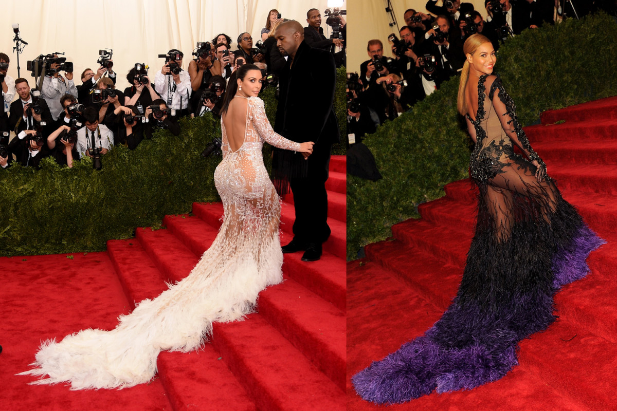 Kim Kardashian\'s Met Gala Gown Is Eerily Similar to Beyoncé\'s in ...