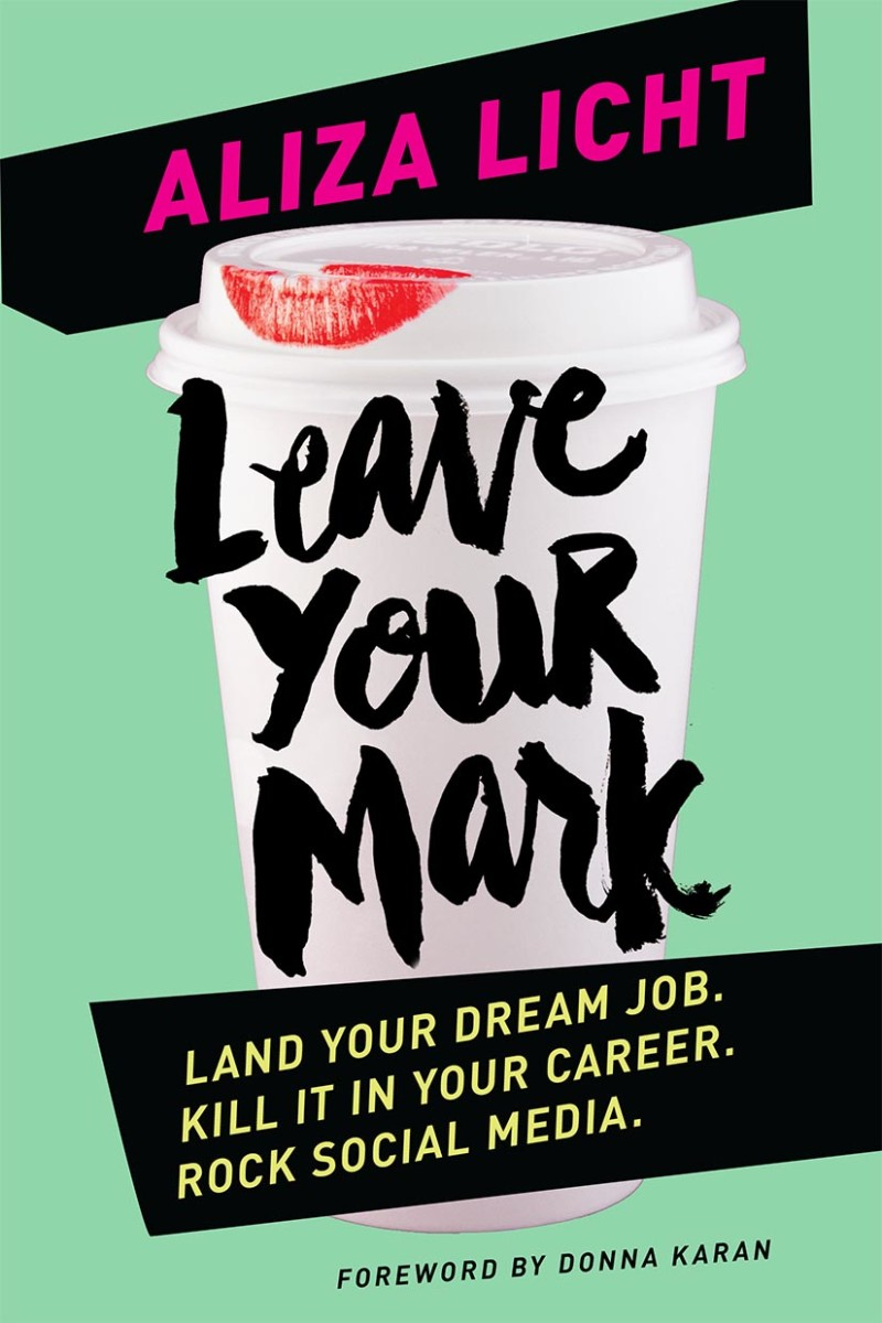 The 'Leave Your Mark' book cover. Photo: Courtesy
