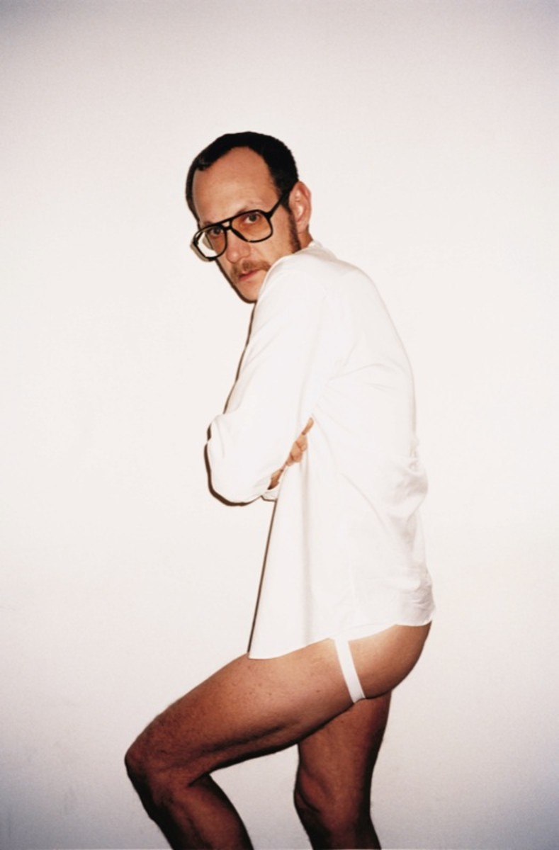 Terry Richardson turns the camera on himself, styled by Christopher Niquet.