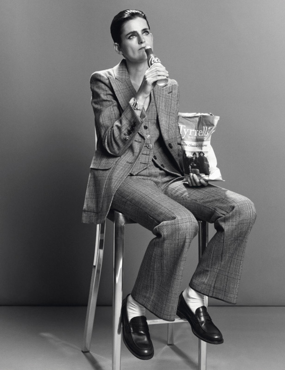 Stella Tennant styled by Joe McKenna, photographed by Inez and Vinoodh