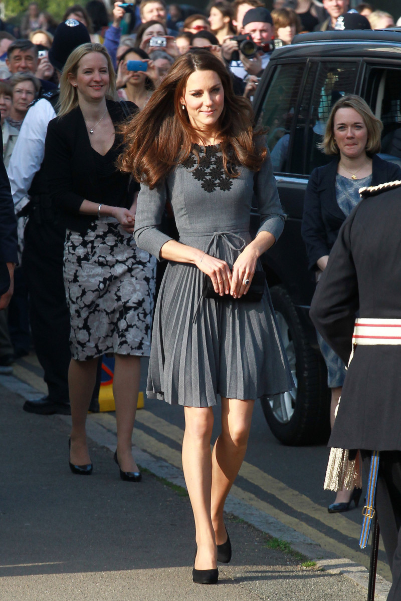 Kate Middleton during a visit to the Dulwich Picture Gallery in 2012. Photo: Fred Duval/Getty Images