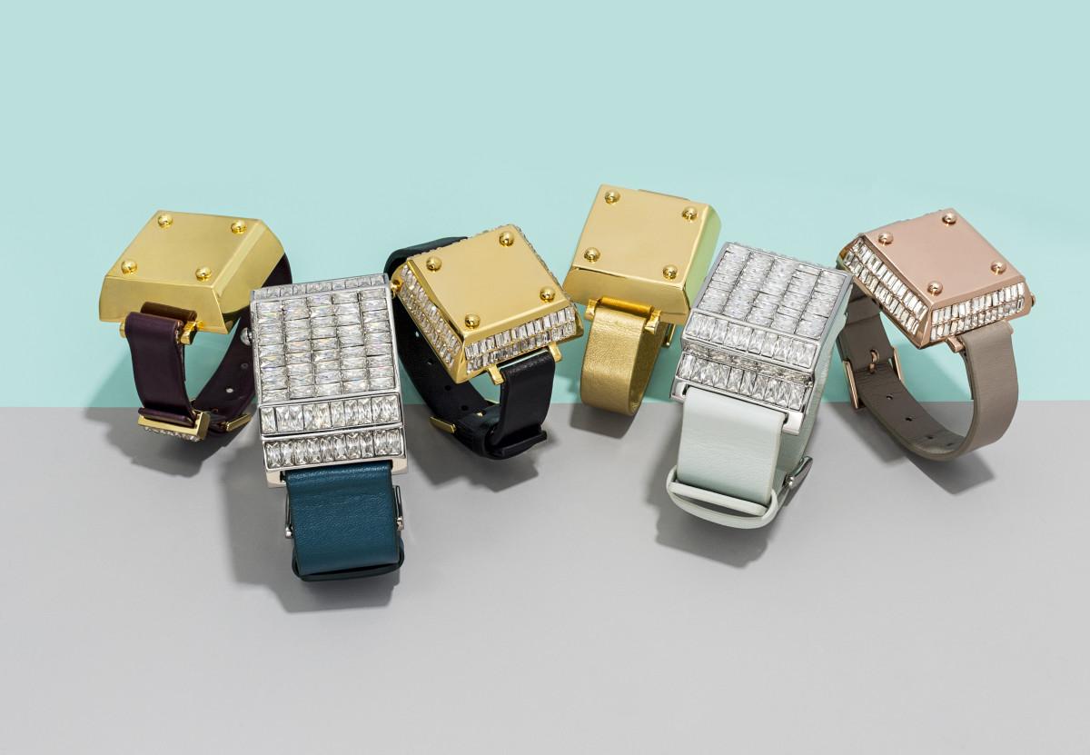 The BaubleBar x Jawbone collection. Photo: BaubleBar