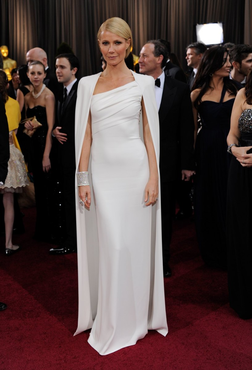 Gwyneth Paltrow in Tom Ford at the 84th Academy Awards. Photo: Ethan Miller/Getty Images