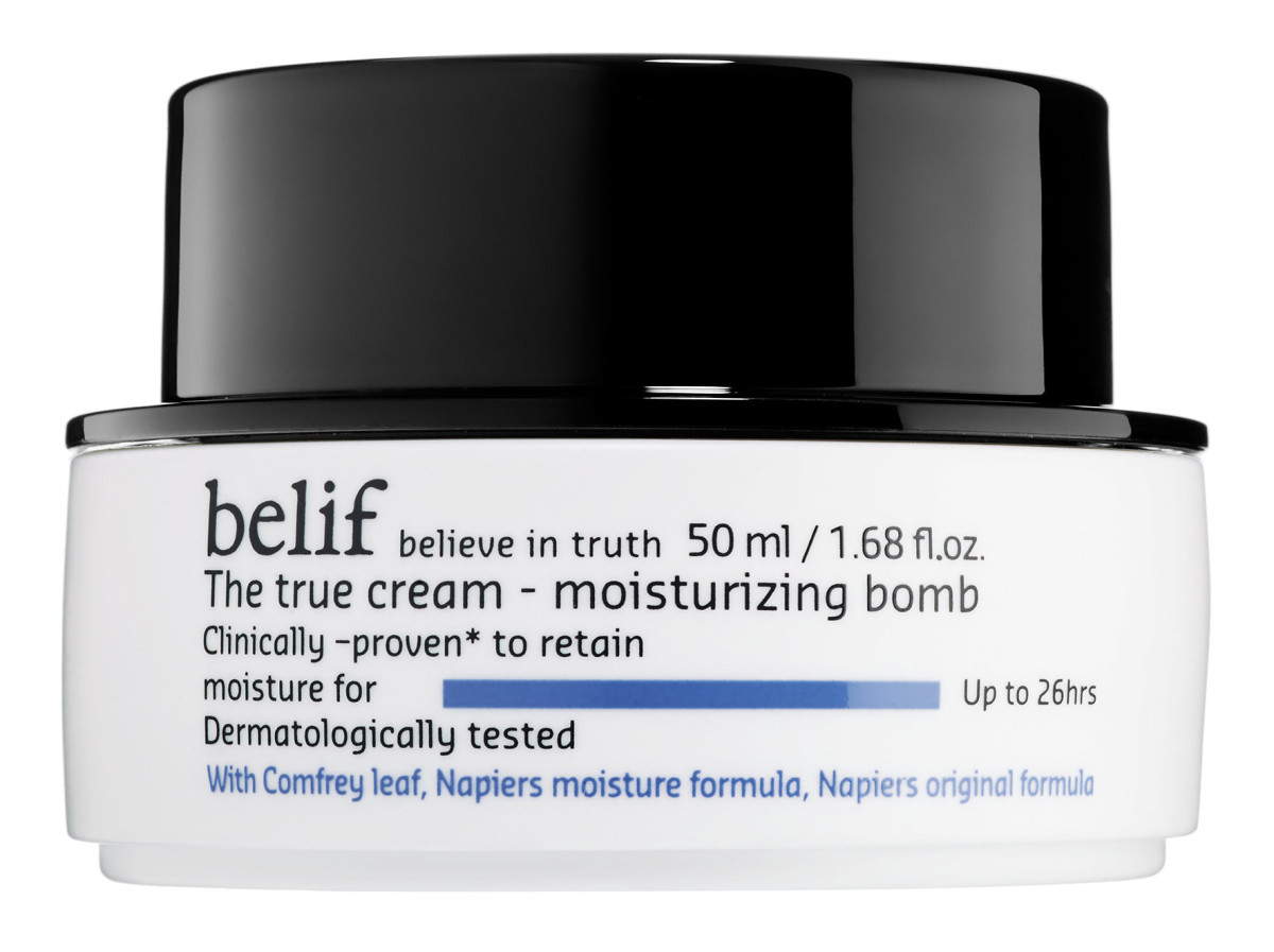 "Belif's ""The True Cream Moisturizing Bomb,"" $38, available at Sephora."