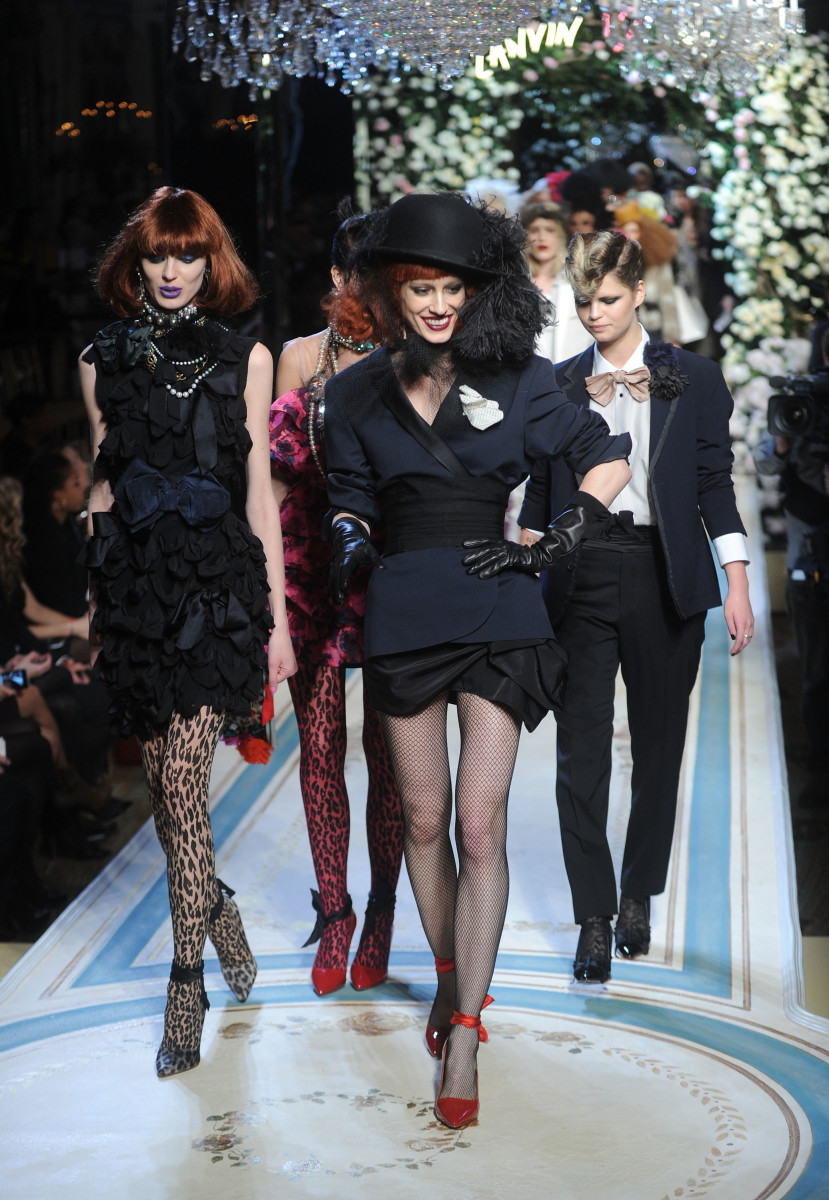 Lanvin's sell-out 2010 collaboration with H&M helped raise the house's international profile. Photo: Jamie McCarthy/Getty Images for H&M
