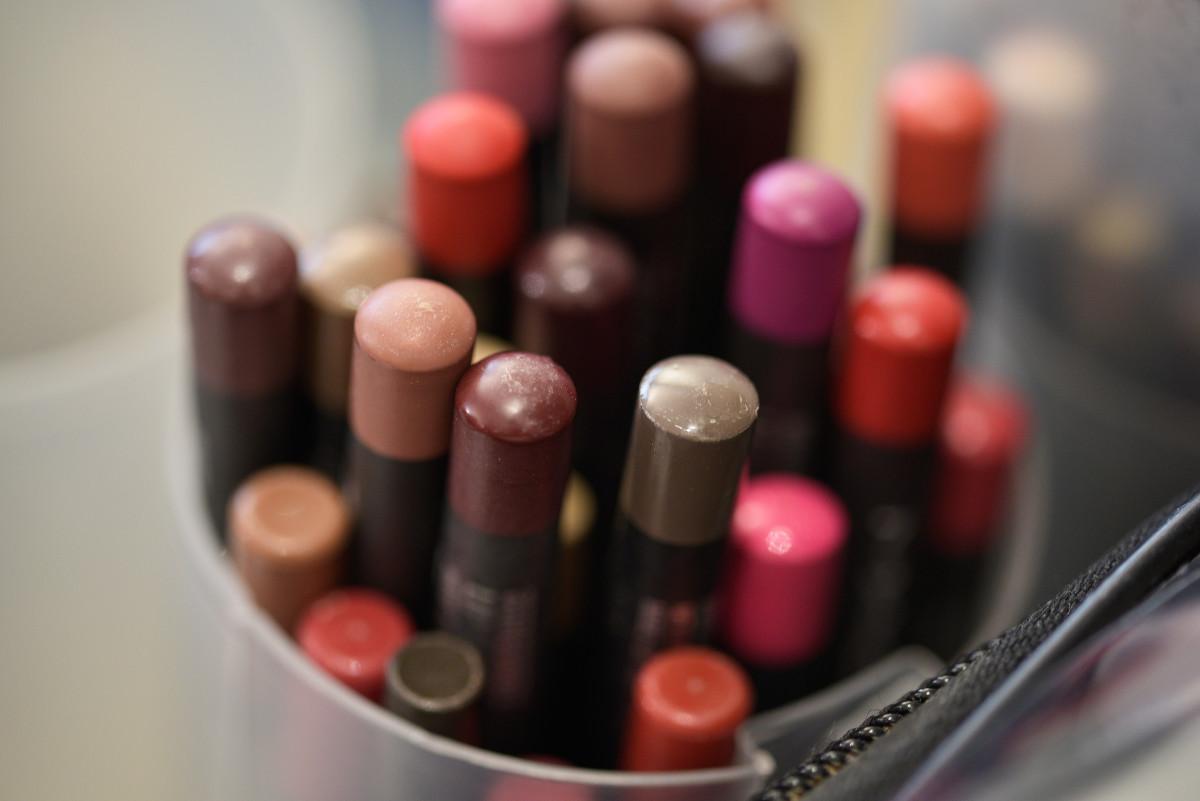 Pencils from MAC Cosmetics. Photo: Fulvio De Filippi/Getty Images