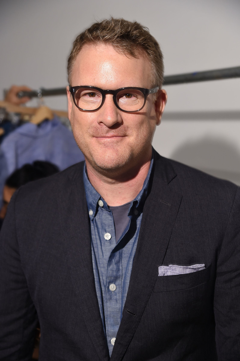 Designer Todd Snyder at the inaugural New York Fashion Week: Men's in July. Photo: Michael Loccisano/Getty Images