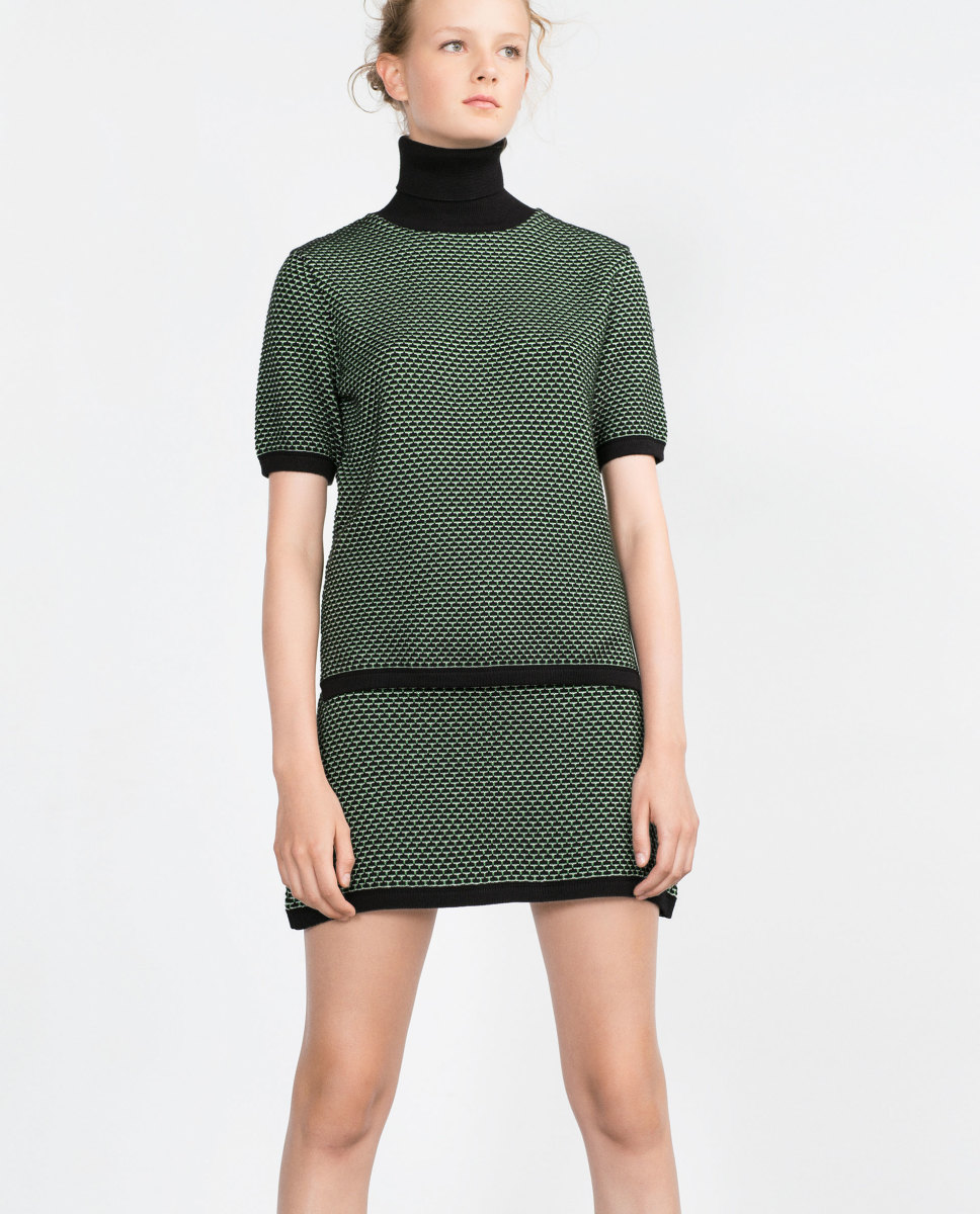 Zara Jacquard Sweater, $25.90, available at Zara.