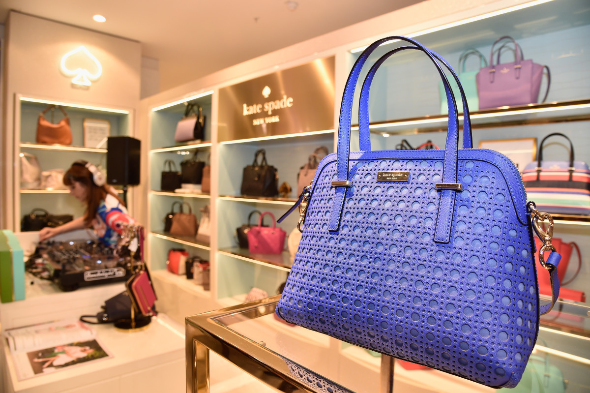 A Kate Spade concession in Paris. Photo: Pascal Le Segretain/Getty Images