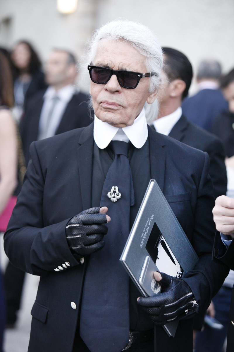 Karl Lagerfeld. Photo: Patrick Aventurier/Getty Images