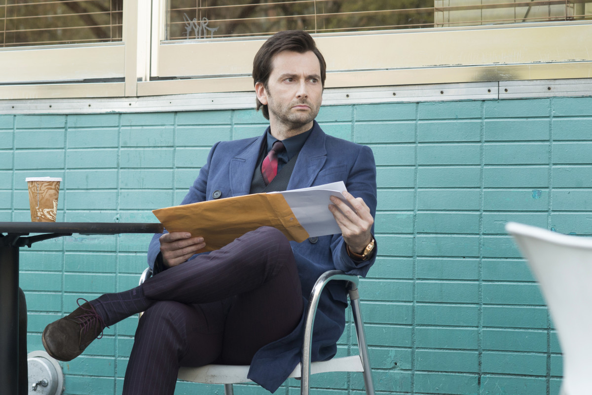 David Tennant as Kilgrave. Photo: Myles Aronowitz/Netflix